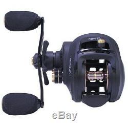 Zebco SHD201HPT BX2 Smoke Heavy Duty 7.31 LH Saltwater Baitcasting Fishing Reel