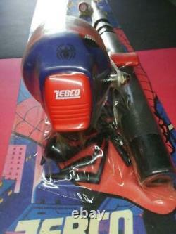 Zebco Spider-Man Fishing Rod Reel Lure Spider Figure