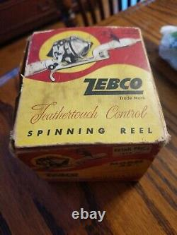 Zebco Spinning 33 Feather touch Control 1958