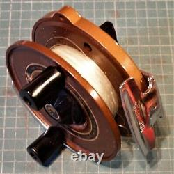 Zebco- Ted Peck Signature Series Fly Reel 1984- EX+-Near Mint- Very Scarce