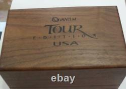 Zebco quantum tour edition US 600 limited edition baitcast reel USA MADE