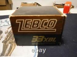 Zebco xbl33 xbl 33 nib new nos vintage old