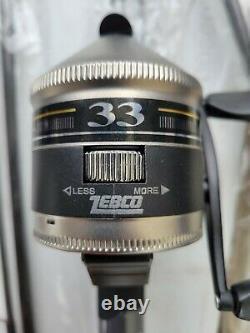 (set Of 6) Zebco 33 Fishing Rod Reel