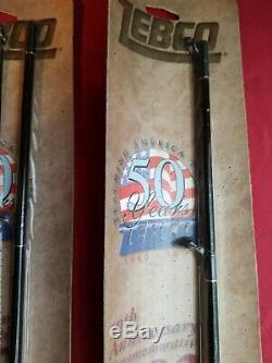 2 Moulinets Zebco 202 Vintage 50e Anniversaire 1949-1999