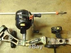 Bear Apprentice 2 Arc Combiné Et Zebco Bow Fish Reel