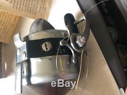 Bobine De Spincast Spinner Robuste, Modèle 55 De 1958 De Zebco, Boîte + Manuel, USA Made Vtg