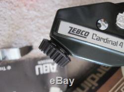 Bobine Vintage Spinning Zebco Cardinal 4 Avec Clé En Papier Box