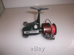 Bobine Vintage Zebco Cardinal 4 Vert Marron Express Speed 6.1 Suède