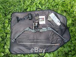 Browning Bow Pêche 70lb Siège À Rouleaux Flèche Reste Zebco 808 Diapositives Cajun Reel