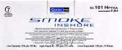 Bundle Quantum Smoke Sl101hptsa 7.31 Moulinet À Canette À Main Gauche Avec Chapeau