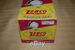 Début Zebco Zero Hour Bomb Company Casting Bobine À Nice Boîte Avec De La Paperasse