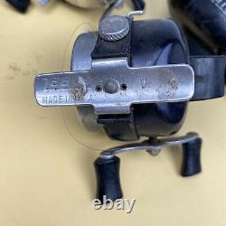 Lot De 10 Bobines Zebco Vintage Fabriquées Aux États-unis Pour Les Pièces Ou La Réparation