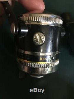 Lot De 4 Vintage Zebco Canne À Pêche 33 154 Omega 33 Classique 144xl Tiggerspin