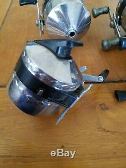 Lot De 4 Vintage Zebco One Hi-speed Roulement Reel