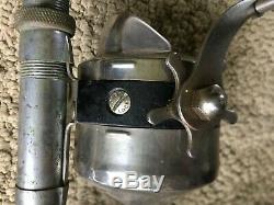 Moulinet De Pêche Et Canne Vintage Spinner Modèle 55 Zebco Heavy Duty