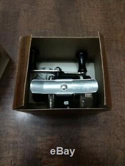 Moulinet Mini Moulage Vintage Zebco Omega 113, Neuf Dans Son Emballage
