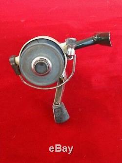 Moulinet Spinning Vintage Zebco 3-cardinal, Fabriqué En Suède