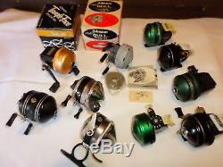 Moulinets De Pêche Vintage, Johnson, Zebco