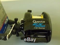 Nos Zebco Quantum Ex200 Magnum Ratio Engrenage Baitcast Main Droite Antirévers