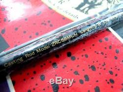 Nouveau Vintage 1994 Zebco 33 Rhino Tough Combo Rod Et Deux Bobines Zrc56ml Zr3333 -s3