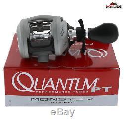 Quantum Monster Baitcast Moulinet De Pêche 6.41 Droite Nouveau