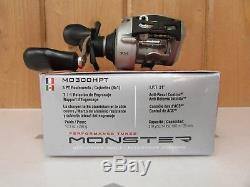 Quantum Pt Monster Mo300hpt Baitcasting Reel 7.11 Droitier Nouveau