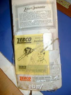 Rare 1960 Vintage Zebco 77 Reel-n-rod Fishing Combo Unused In Package
