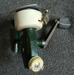 Vgc Travail Vintage Zebco Cardinal 4 Spinning Reel Made In Sweden Sn750500