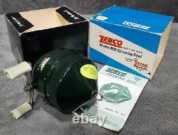 Vintage 1969 New N Box Zebco 808 Spin-cast Reel Original Box+manual Made N Etats-unis