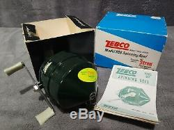 Vintage 1969 Nouveau Inutilisé Titre Original Super Rare Box Zebco 808 Spin Cast Reel USA