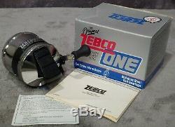 Vintage 1990 Nouveau Dans La Boîte Zebco One Heavy Duty Spincast Reel Très Rare Made In USA