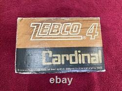 Vintage Cardinal Zebco 4 Nouveau, Non Pêché, Menthe En Boîte