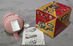 Vintage Nouveau Dans La Boîte Zebco Rose 202 Reel Extrêmement Rare Condition Made N USA
