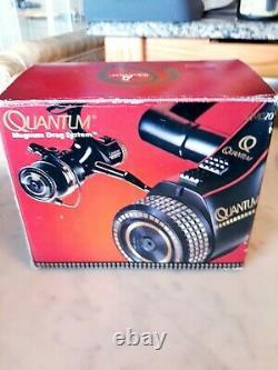 Vintage Quantum Par Zebco Qmd 20 Spinning Reel New In Package (made In Japan)