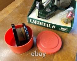 Vintage Zebco Abu Cardinal 6 Bobine De Pêche Nouveau Dans La Boîte N'utilisez Jamais