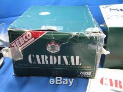 Vintage Zebco Cardinal 6 Nouveau Dans La Boîte Avec Les Outils Et Tous Les Documents Jamais Spoule