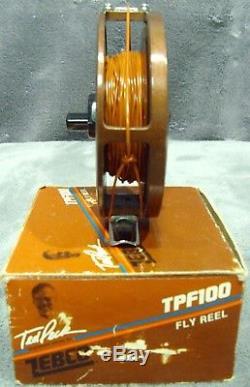 Vintage1986zebcotpf100fly Reelmint Dans Boxted Peck Signature Seriesjapan