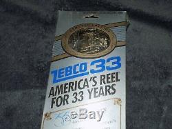 Vintage1989new! Zebco40th Anniversarylimite Limitée33rod & Reel & Combo