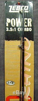 Vintage1998marque Nouveau Sur Cartezebcorino Rhinorod & Reel Combousasuper Rare