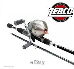 Zebco 33 Platinum Combo Moyen D'action Spincast Canne À Pêche Et Bobine 33pl / Plc602m