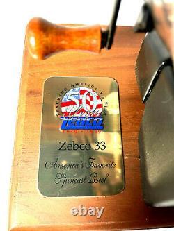 Zebco 33 Reel 50e Anniversaire #804 De 1000 Commemorative- Vintage
