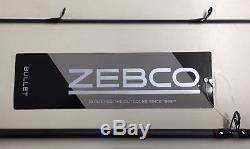 Zebco 6'6 Bullet Zb3 Spincast Combiné De Pêche Tige Et Moulinet Nouveau # Zb3662m