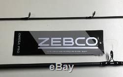 Zebco 6'6 Omega Pro Spincast Pêche Combo Canne Et Moulinet Nouveau # Zo3pro662m
