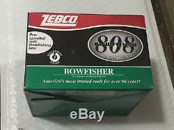 Zebco 808bow 808 Moulinet À Pêche À La Mèche Bowfisher Bow Nouveau