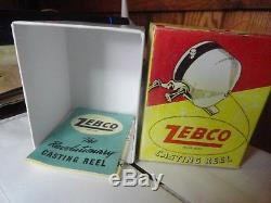 Zebco Bobine Standard Avec La Tête D'équerre Noire Le Premier Modèle Très Bonne Forme