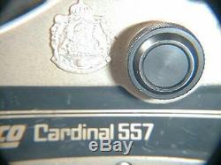 Zebco Cardinal 557 N'a Jamais Utilisé Ou Doublé. Ser. # 811202, Cru Affiché Sur La Tige