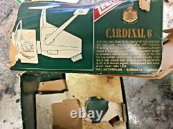 Zebco Cardinal 6 Produit De La Suède #110707 Bobine De Filature D'eau Salée À Visage Ouvert