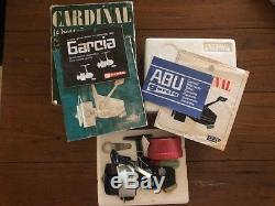 Zebco Cardinal 7 Big Game Spinning Reel Avec Manuel Tous Les Papiers De Boîte D'origine