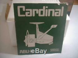 Zebco Cardinal 7, Nib, Un Véritable Show Pc. Ajouter À La Collection Ou Pêcher Les Gros
