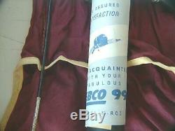 Zebco Modèle Combo Tige 99 / Bobine Nouveau Dans La Boîte. 1960